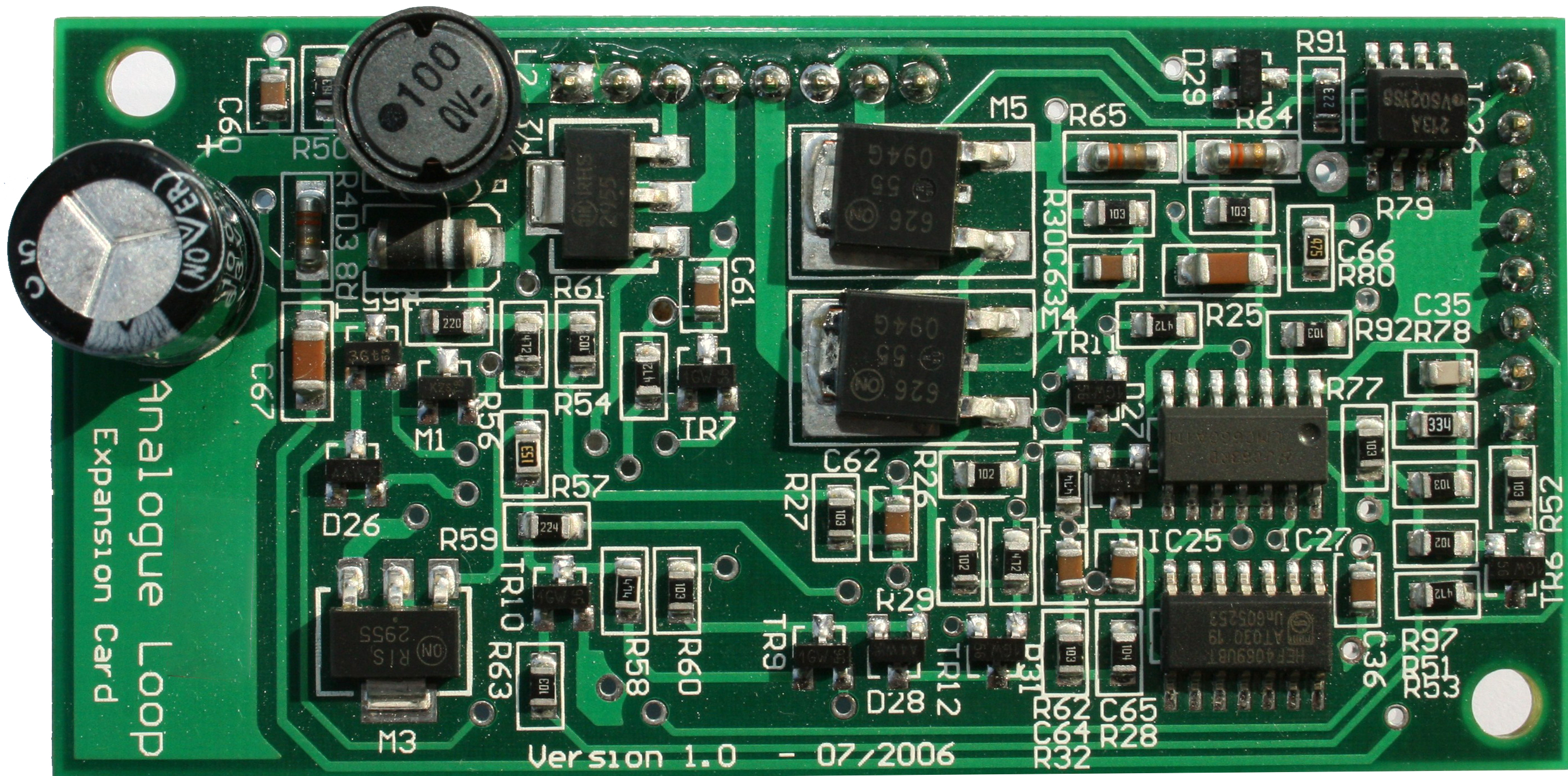 GlobalFire JUNIOR V4 - LOOP CARD