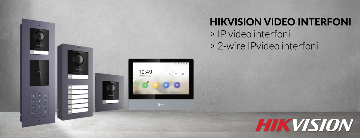 Hikvision video interfoni