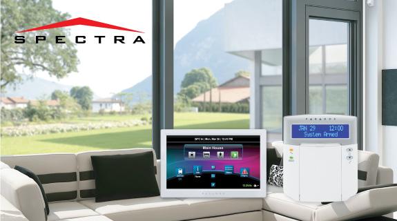 Spectra SP alarmni sistemi